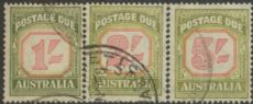 Australia Postage Due SG D129-31 1953-59 High values set of 3 (ADGU/342)